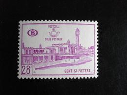 Chemins De Fer Belgique 1965 - Gare St Pierre à Gand - CF 376 - Neufs (**) Mint (MNH) - 1952-....