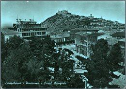 °°° Cartolina N.149 Campobasso Panorama E Castel Monforte Viaggiata °°° - Campobasso