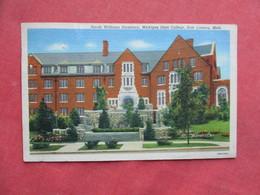 Michigan State College Dormitory  East  Lansing - Michigan  >  Ref 3258 - Lansing