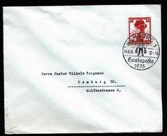 A6019) DR Ortsbrief Hamburg 14.10.35 Mit Sonderstempel HANSAPOSTA - Briefe U. Dokumente