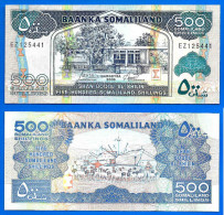 Somaliland 500 Shillings 2011 Neuf UNC Shilin Billet Prefix LG Afrique Africa Paypal Skrill Bitcoin - Somalie