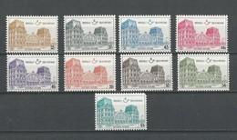 Belgique: CF 407/ 415 ** (Gare D'Oostende) - 1952-....