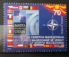 MACEDONIA NORTH 2019 - 70th Anniversary Of NATO MNH - Macédoine