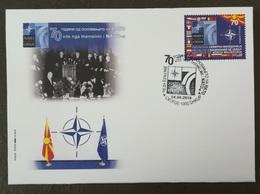 MACEDONIA NORTH 2019 - 70th Anniversary Of NATO FDC - Macédoine