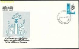 Sri Lanka 1984 Mi 679 FDC ( FDC ZS8 SRI679 ) - Sri Lanka (Ceylon) (1948-...)