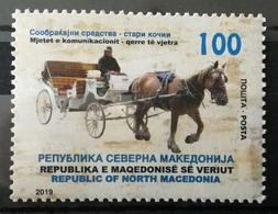 MACEDONIA NORTH 2019 - Transport Old Coach MNH - Macédoine