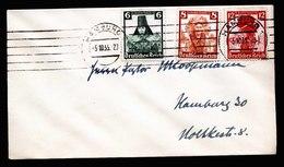 A6020) DR Ortsbrief Hamburg 05.10.35 Mit Trachten Mi.591-593 - Briefe U. Dokumente