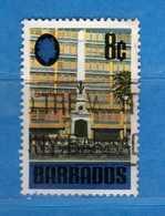 (Us3) ) BABADOS ° 1970 - CENOTAPHE. Yvert.310. Usato  Vedi Descrizione. - Barbados (1966-...)