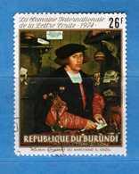 (Us3) ) BURUNDI ° 1974 - Tableaux Yvert. 629. Usato  Vedi Descrizione. - Burundi