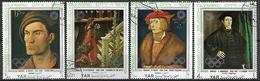 YEMEN   -    1972 .  JO Munich  /   Peintures  /  Dürer  /  Altoorfer / Grien / Amberger. - Yémen