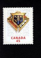 745153088 POSTFRIS  MINT NEVER HINGED EINWANDFREI SCOTT 1656 KNIGHTS OF COLUMBUS IN CANADA CENT - 1952-.... Elizabeth II