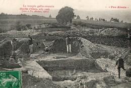 PRO ALESIA - Le Temple Gallo-romain - France