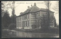 +++ CPA - ZANDHOVEN - SANTHOVEN - Bautersem-hof ( Achterzijde ) // - Zandhoven