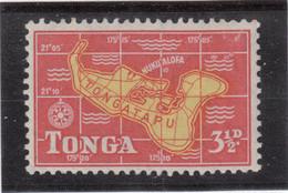 VV10  - TONGA PO 104 ** MNH De 1953 - Cartographie - - Tonga (1970-...)