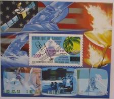 Djibouti Block Olympia Lace Placid 1980 Gezähnt Postfrisch (64375) - Jeux Olympiques