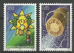 Luxembourg 2011 Mi 1906-1907 MNH ( ZE3 LXB1906-1907 ) - Vins & Alcools