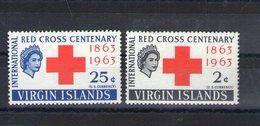 Iles Vierges. Centenaire De La Croix Rouge - Iles Vièrges Britanniques