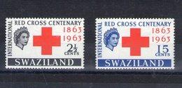 Swaziland. Centenaire De La Croix Rouge - Swaziland (1968-...)