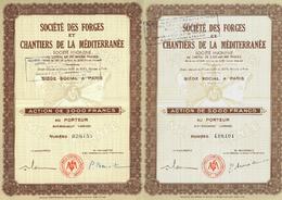 2 X Forges Et Chantiers De La Méditerranée S. A. - Navigation
