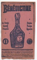Buvard Vente De Bénédictine  (Almanach Hachette 1908) - Farm