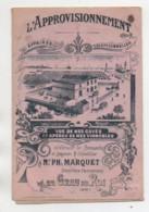 Dépliant Publicitaire Vente De Vins , M Marquet à GRAU-du-ROI (Gard) En 1904 - France