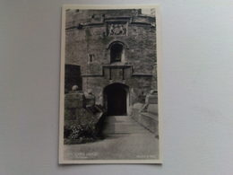 Black And White  Postcard -  Mawes  Castle - England