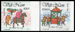 Vietnam 1996  YT 1596-97 Nd ; Mi# 2744-45  (*) MNG   Imperforate - Vietnam