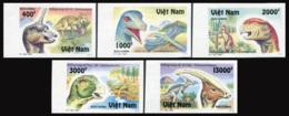 Vietnam 1996  YT 1613-17 Nd ; Mi# 2762-66  (*) MNG   Imperforate - Vietnam