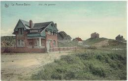 LA PANNE- BAINS - Villa Ma Garenne - De Panne