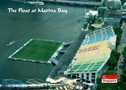 AK Singapur Stadion Singapore The Float At Marina Bay Stadium New Postcard - Football