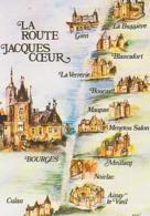 Cher        H133        La Route Jacques Coeur ( De Culan à La Bussière ) - Autres Communes