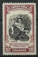Costa Rica 1950 Mi 473 MNH ( LZS1 CSR473 ) - Vegetales