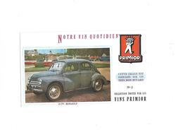 Buvard 4 Chevaux Vin Primior - Automobile
