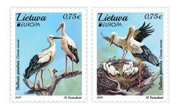 Lithuania. 2019 Europa. Storks. - 2019