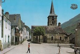 Vall D'Aran.  Bosost.  Place De L'Eglise - Lérida