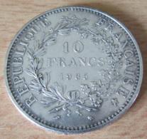 France - Monnaie 10 Francs 1965 En Argent - SUP - France