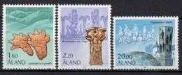 Aland - 1986 - Yvert N° 16 à 18 ** - Aland