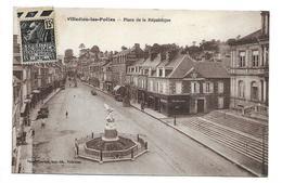 50/ MANCHE... VILLEDIEU Les POELES. Place De La République - Villedieu