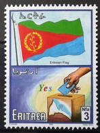 2000 ERITREA MNH Progress And National Symbols Flag Of Eritrea And Election Box - Eritrea