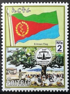 2000 ERITREA MNH Progress And National Symbols Flag And Constitution Of Eritrea - Eritrea