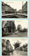 3x WEMMEL : Place Lieutenant Graff + Avenue De Ridder + Ancien Parc (deel 1) - Wemmel