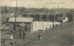 1908 - DENAIN - LE RIVAGE - CANAL - Autres Communes