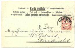 1900' S - ST HUBERT - Postkaart - Saint-Hubert
