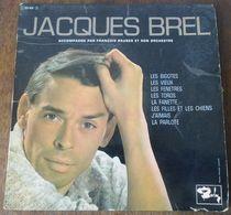33 T 25 CM JACQUES BREL ** LES BIGOTES - Autres - Musique Française