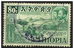 Ethiopia - 1952 Allegory (Federation With Eritrea) 80c Used  SG 440  Sc 332 - Ethiopia