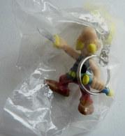 FIGURINE ASTERIX PLASTOY 1997 ASTERIX DEGAINANT Porte Clés TBE NEUF EN SACHET - Asterix & Obelix