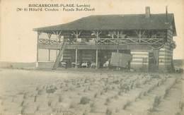 Dép 40 - Biscarrosse - Hôtel Condou - Façade Sud Ouest - état - Biscarrosse