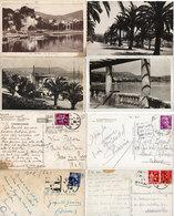 BANDOL - 4 CP Avec Cachets Daguins - Port - Echappée - Palmiers - Grand Hotel  (112331) - Bandol