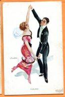 FR364, Couple, Danse, Illustrateur LEADO, Furlana, 1343, Non Circulée - Couples