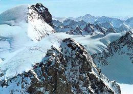 1 AK Schweiz * Zentralschweiz - Titlis Und Gipfelrestaurant Bei Engelberg - Luftbildaufnahme - Kanton Obwalden * - OW Obwald